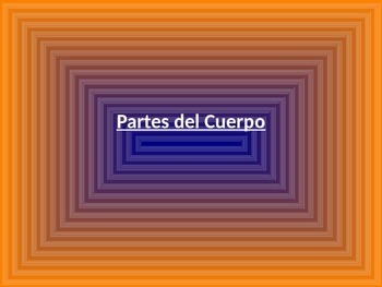 el cuerpo/Body parts in Spanish-PPT