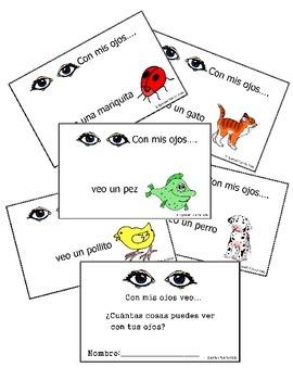 Spanish booklet: Con mis ojos veo...