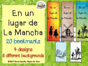 Spanish bookmarks En un lugar de la Mancha