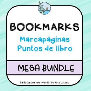 Spanish bookmarks MEGA BUNDLE - marcapáginas, puntos de libro