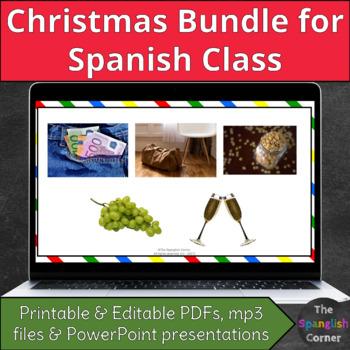 Spanish Christmas bundle: Navidad y año nuevo