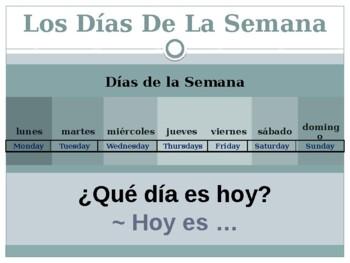 Spanish calendar: days, months and seasons