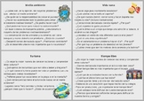 Spanish cards / Translations - different topics (Intermedi