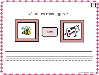 SPANISH SUPERIORITY COMPARATIVE CENTER (chart, worksheets, answer key...).