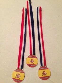 Spanish champion medal / Medalla de campeón de español