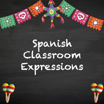 Spanish classroom expressions