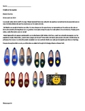 Spanish clothing unit reading activity EMOJIS