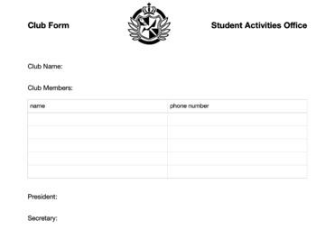 "Spanish ""club fair"" class speaking communicative activity"