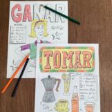 Spanish color by conjugation present tense bundle 12 pages
