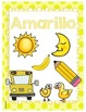 Spanish color word posters