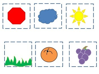 Spanish colores memory game colors