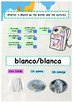 Spanish colors, colores booklet for beginners