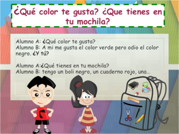 Spanish colors, colores full lesson for beginners