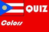 Spanish colors quiz or worksheet distance learning