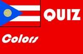Spanish español colors quiz or worksheet reteach recovery