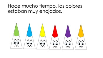 Los colores - story, play and coloring book