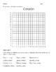 Spanish coordinate planes/ plano cartesiano 1-16