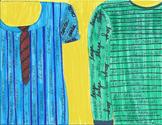 Spanish corta larga camisa artwork