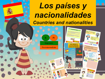 Spanish countries and nationalities full lesson for beginners