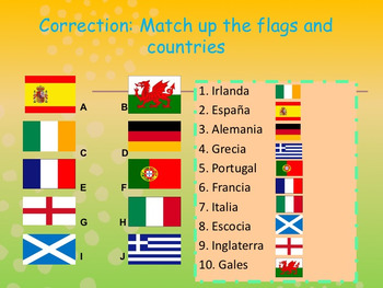 Spanish countries and nationalities, paises y nacionalidades PPT for beginners