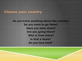 Spanish countries powerpoint