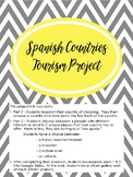 Spanish countries tourism & geography culture project