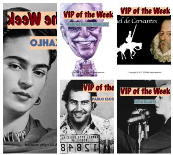 Spanish cultural activities: Famous Hispanics