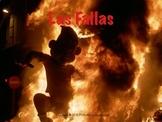 Spanish cultural activities: Las Fallas