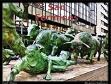 Spanish cultural activities: Los San Fermines/ The running