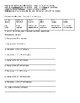 Spanish days and months notes and practice worksheet
