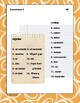 Spanish dice game for conjugation: IMPERFECT Tense, That's