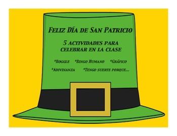 Spanish el Dia de San Patricio Actividades