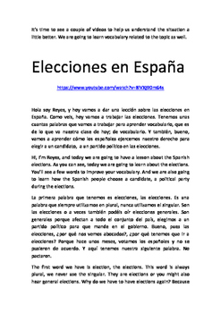 Spanish elections 2016