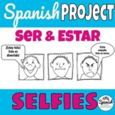 Spanish: Emotions comic / selfie project (ser vs. estar)