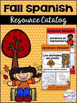 Spanish fall {el otoño} Resource Catalog ~ para la clase de español