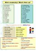 Spanish family, mi familia booklet for beginners