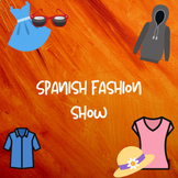 Spanish fashion show project
