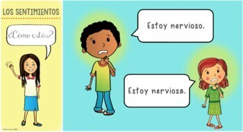 Spanish feelings / emotions BUNDLE