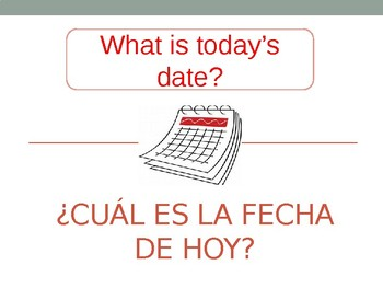 Spanish first day review phrases for students