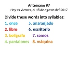 Spanish first year bellwork bundle / antemano / bell ringer / repasitos / ppt