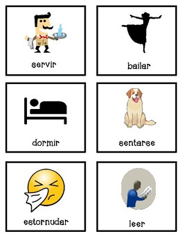 Spanish flashcard bundle
