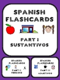 Spanish flashcard bundle