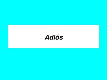 Spanish flashcards PDF: Introducciones