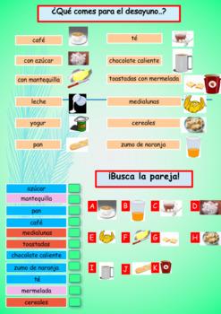Spanish food full lesson for beginners
