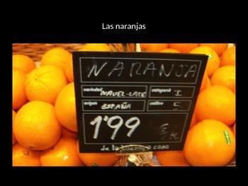 Spanish food power point