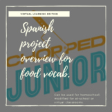 Spanish food project: Chopped Jr!
