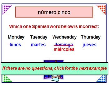 Spanish for Beginners FREE POWERPOINT PREVIEW
