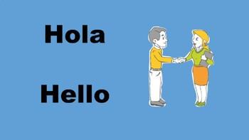 Spanish for Beginners  (Greetings)