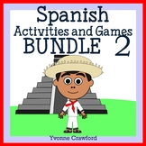 Spanish Bundle 2 - Actividades en Español- Halloween, Christmas, Valentine's Day