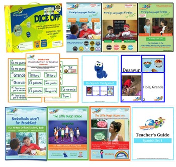 Spanish for Kids Complete Curriculum Package